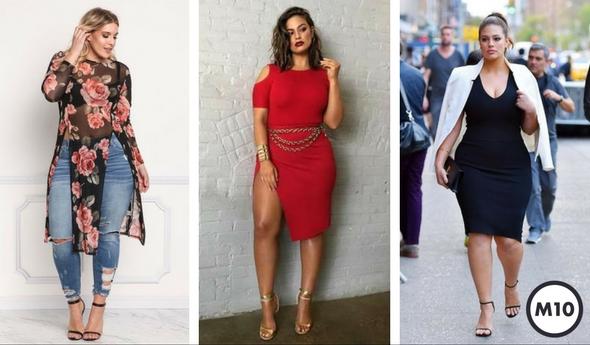 Vestidos para mujeres con curvas